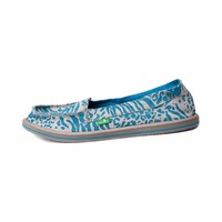 Womens Sanuk Shorty Casual Shoe, Blue Leopard | Journeys Shoes