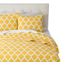 Brights Quilt Set - Yellow