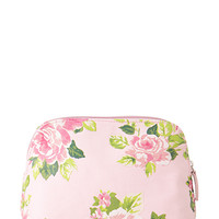 Watercolor Floral Cosmetic Pouch