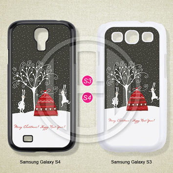 Christmas, Samsung Galaxy S3 S4 S5 Case, Samsung Galaxy Note 2 3 case, Case for Samsung -S0665