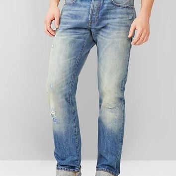 1969 Slim Fit Jeans Medium Patchwork Selvedge