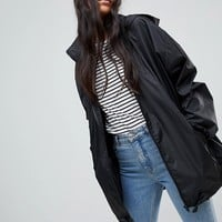 ASOS TALL Rain Jacket with Fanny Pack at asos.com