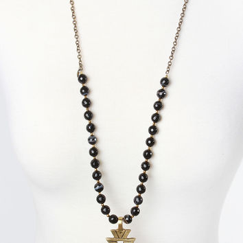 The Cameron Necklace - Black