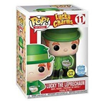 Funko POP! Ad Icons Lucky Charms Luck the Leprechaun Limited Edition (Glow In The Dark)
