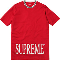 Supreme Striped Rib Tee