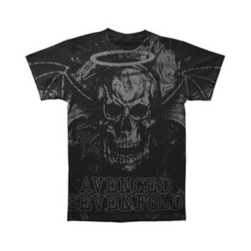 Avenged Sevenfold Men's  Dear God T-shirt Black Rockabilia