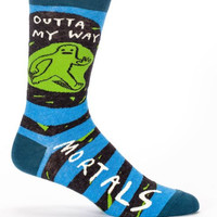 Outta My Way Mortals Men's Socks