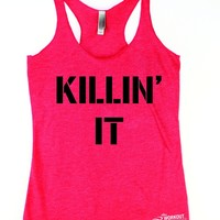 Killin' It Workout Tank Top for women