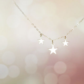 Mother daughter jewelry stars