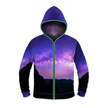 Starry Night - Light Up Hoodie