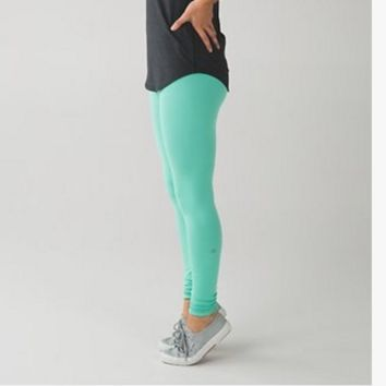 """Lululemon"" Printing yoga yoga pants Colorful"