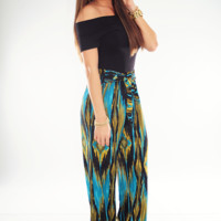 High On Life Pants: Black/Multi
