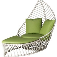 Palm Outdoor Chair/Ottoman Set - Outdoor | One Kings Lane