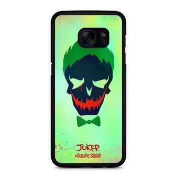 Joker Poster Suicide Squad Samsung Galaxy S7 Edge Case