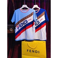 FENDI Mania Knit T-shirt