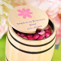 Personalized Candy Barrel