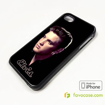 NEW ELVIS PRESLEY iPhone 4/4S 5/5S/SE 5C 6/6S 7 8 Plus X Case Cover