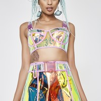 Dream Crusher Clear Skirt