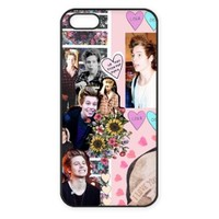 5SOS Luke Hemmings Protective Hard Phone Case For iPhone 5 case iPhone 5s case