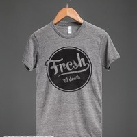 Fresh(vintage)-Unisex Athletic Grey T-Shirt