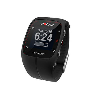 M400 GPS Running Watch and Fitness Tracker Black