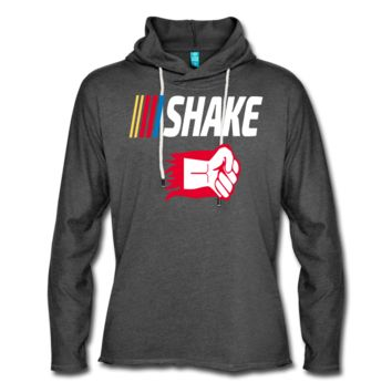 Shake and Bake Couples Unisex Lightweight Terry Hoodie, Shake