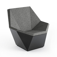 Prism Lounge Chair with Swivel Base