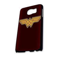 WONDER WOMAN LOGO 09 Samsung Galaxy S6 Case