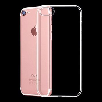 Bakeey™ Ultra Thin  Soft TPU Transparent Shockproof Case For iPhone 7 & 8
