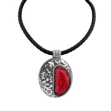 Shiny Jewelry New Arrival Stylish Gift Strong Character Punk Vintage Necklace [4918843972]