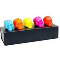 Bright Colors Mini Skull 5 Piece Gift Set
