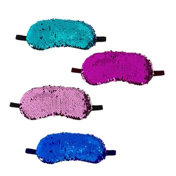Reversible Sequin Sleep Mask
