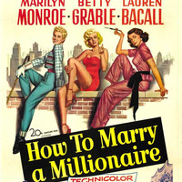 How to Marry a Millionaire 11x17 Movie Poster (1953)