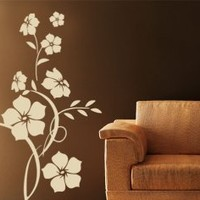 Jade Flower Wall Sticker - Beautiful Floral Decor - Wall Decals | My Wall Decal Shop | Decorating Ideas & Wall Stickers