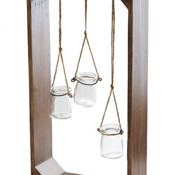 ModCloth Rustic Hang in Flair Vase Set