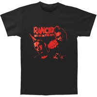 Rancid Men's  Bootleg Series See Ya In The Pit T-shirt Black