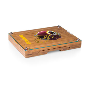 Washington Redskins - Concerto Glass Top Cheese Board & Tools Set