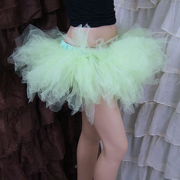 Pastel Mint Green Trashy Ballet TuTu Skirt Adult Medium MTCoffinz - Ready to Ship