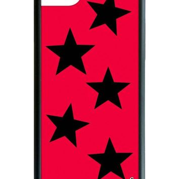 Red Vinyl Stars iPhone 6/7/8 Case