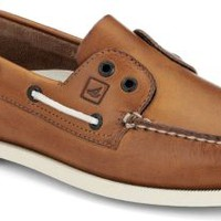 Sperry Top-Sider Authentic Original Laceless 2-Eye Slip-On Boat Shoe TanLeather, Size 9M  Men's Shoes