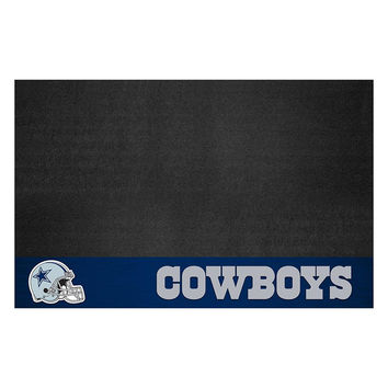Dallas Cowboys NFL Vinyl Grill Mat