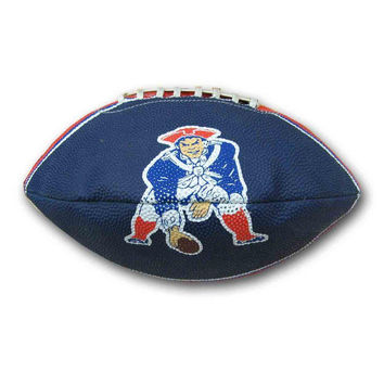 NFL New England Patriots Tailgater Throwback Football