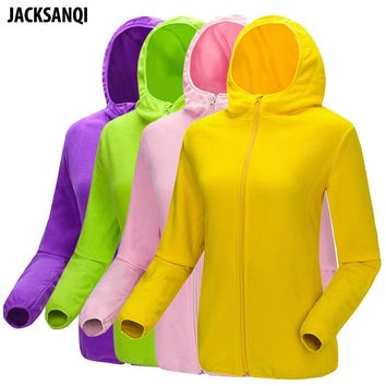 JACKSANQI Winter Spring New Men Women's Warm Softshell Hooded Jacket Outdoor Sport Hiking Skiing Camping Male Female Coats RA120
