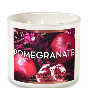 POMEGRANATE3-Wick Candle