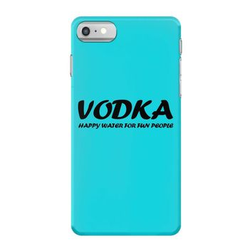 vodka water for happy people t shirt s m l xl 2xl 3xl funny beer keg c iPhone 7 Case