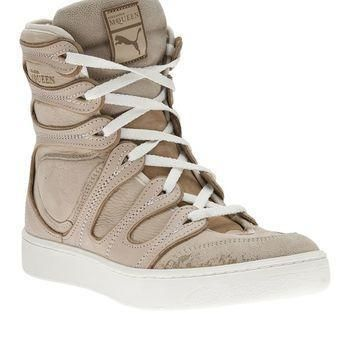 puma black label by alexander mcqueen husska lace up trainer  number 1