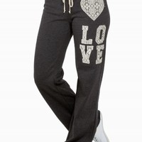 HEART LOVE SWEATPANTS