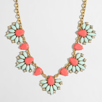 Factory tropical fan necklace