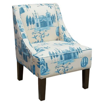 Shop Blue Accent Chair On Wanelo
