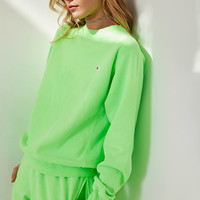Champion + UO Pigment Dye Pullover Sweatshirt | Urban Outfitters